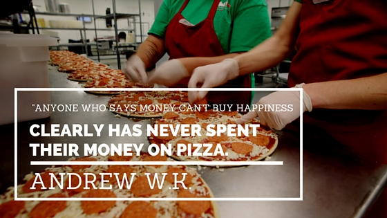 Andrew WK Pizza Quotes
