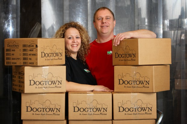 Rick and Meredith Schaper of Dogtown Pizza