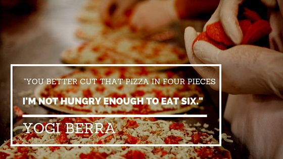 Yogi Berra Pizza Quotes