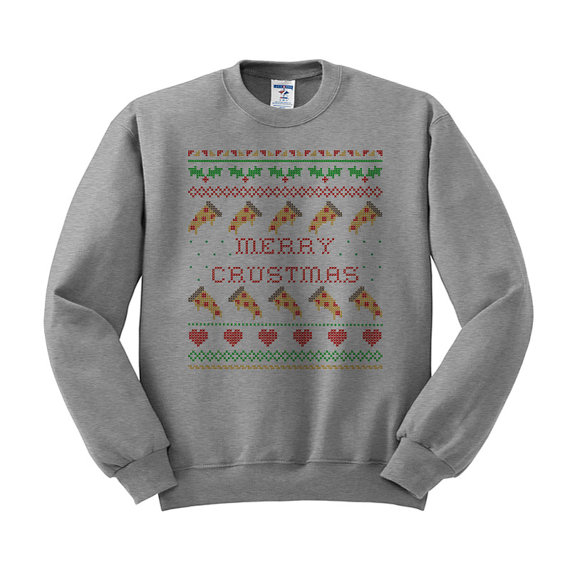 Merry Crustmas Sweatshirt on Etsy