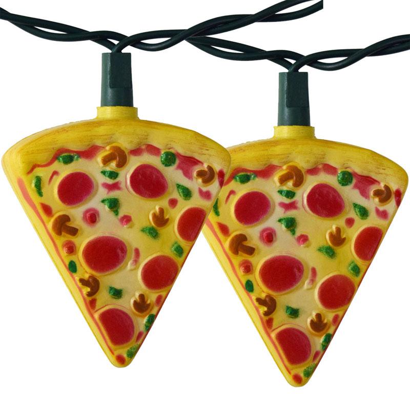 Pizza Slice String Lights