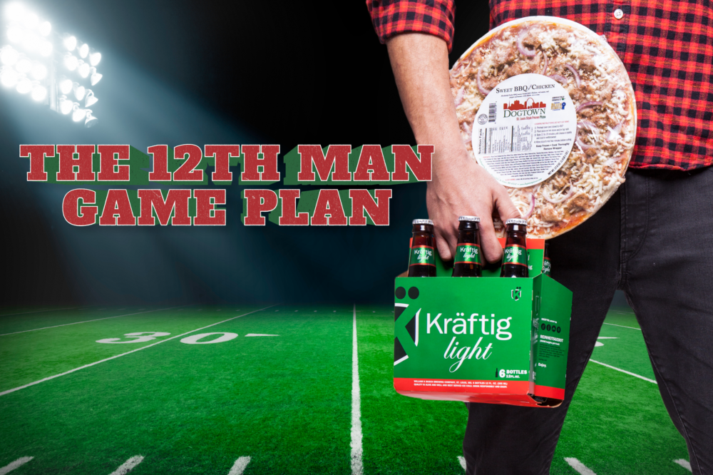 Tackle Game Day With Dogtown Pizza & Kräftig Lagers