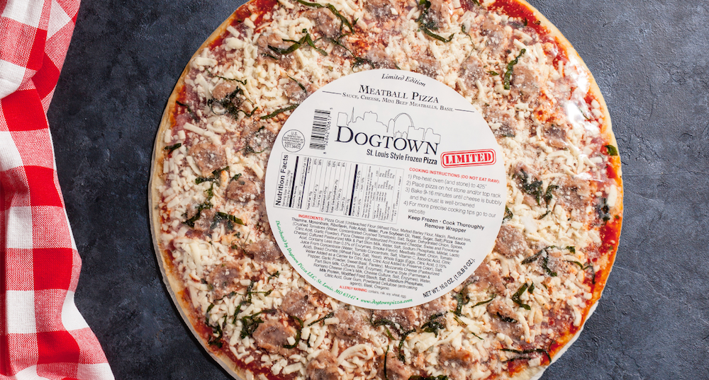 Limited Edition Meatball Pizza - Dogtown Pizza