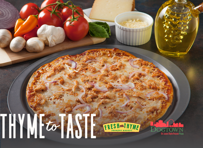 Dogtown Pizza Now Available In Select Fresh Thyme Farmer's Markets In St. Louis