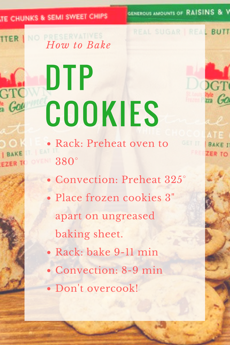 How to Bake Dogtown Pizza Frozen Cookies
