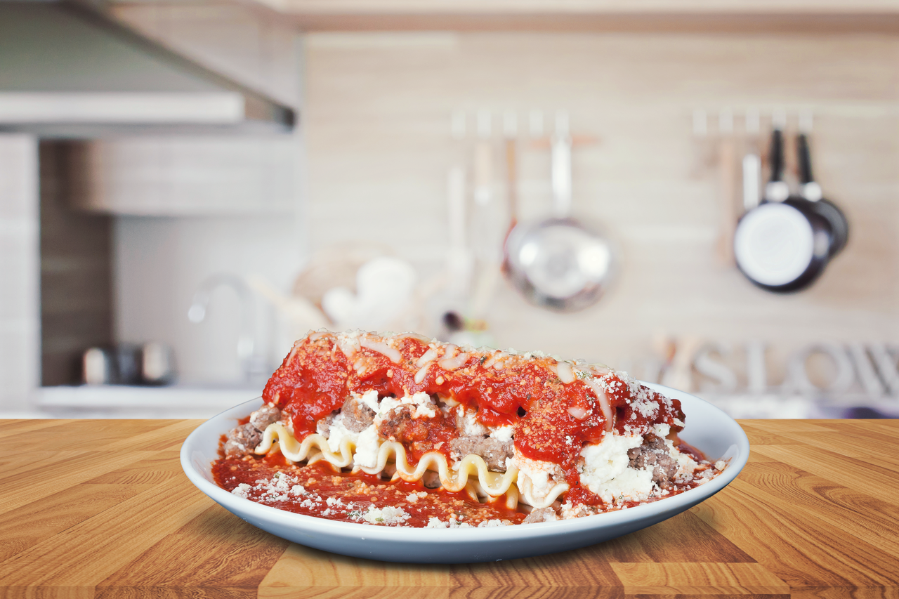 Lasagna   DTP Gourmet Frozen Entrees