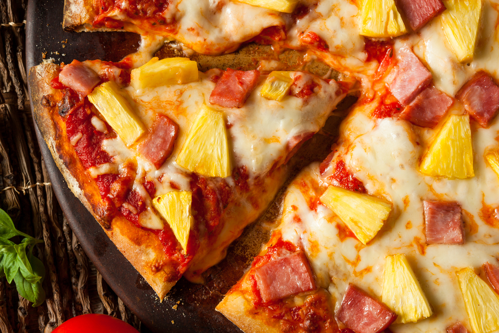 Pineapple-on-pizza