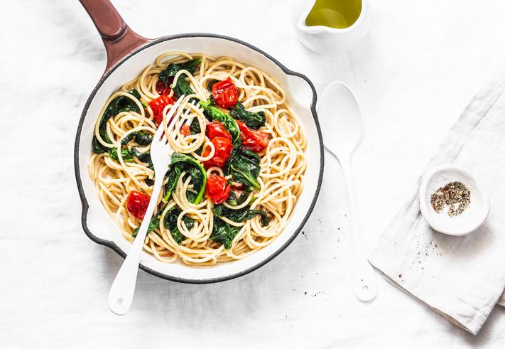 spinach-chicken-pasta